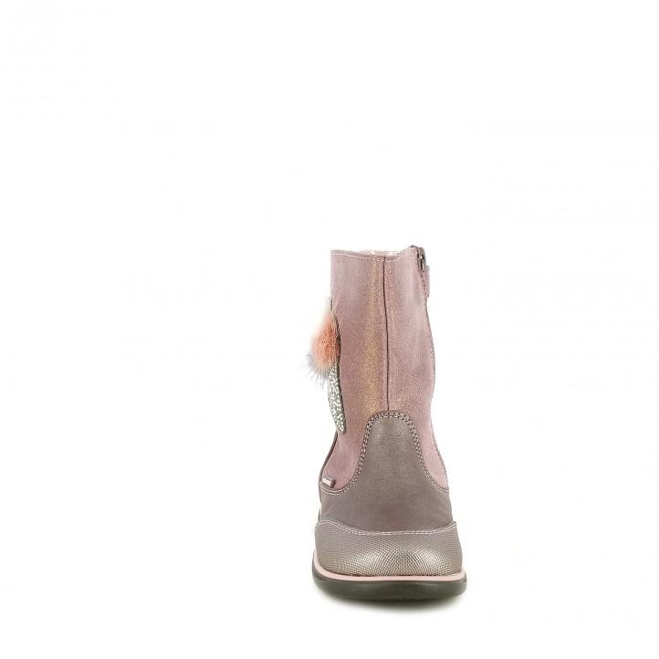 botas PABLOSKY rosas helado pompones - Querol online