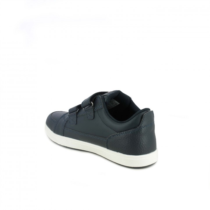 sabates LEVIS blau marí amb sola blanca - Querol online