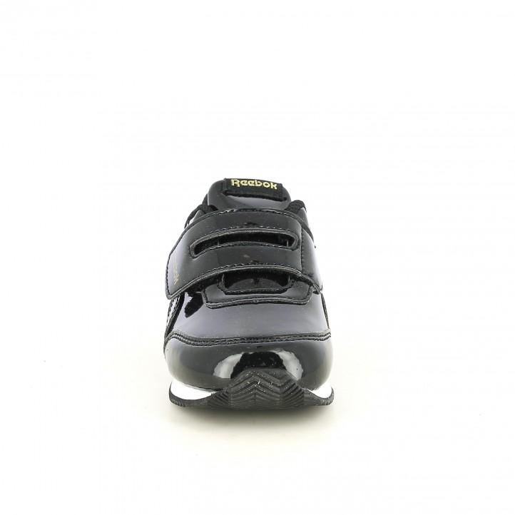zapatillas deporte REEBOK negras charol - Querol online