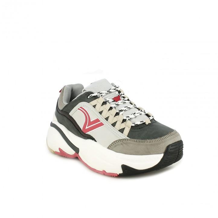 daf276cbeaa ... zapatillas deportivas VICTORIA multicolor con plataforma - Querol online