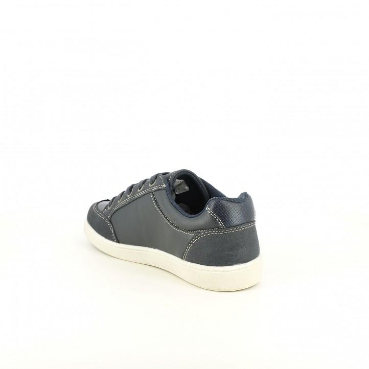 zapatos SPROX azules y marrones sintéticos - Querol online