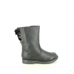 botas SPROX negras con lazo de terciopelo - Querol online