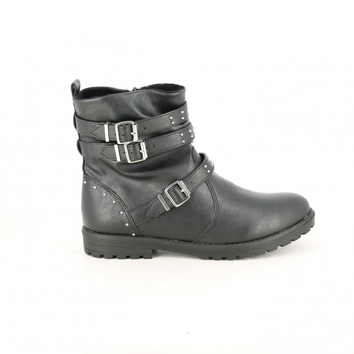 botins SPROX negres amb tires i tatxes - Querol online