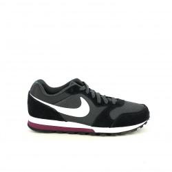 zapatillas deportivas NIKE negras, blancas y lilas - Querol online