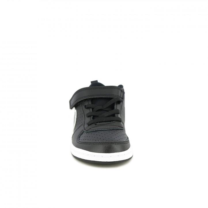zapatillas deporte NIKE court borough low negras - Querol online