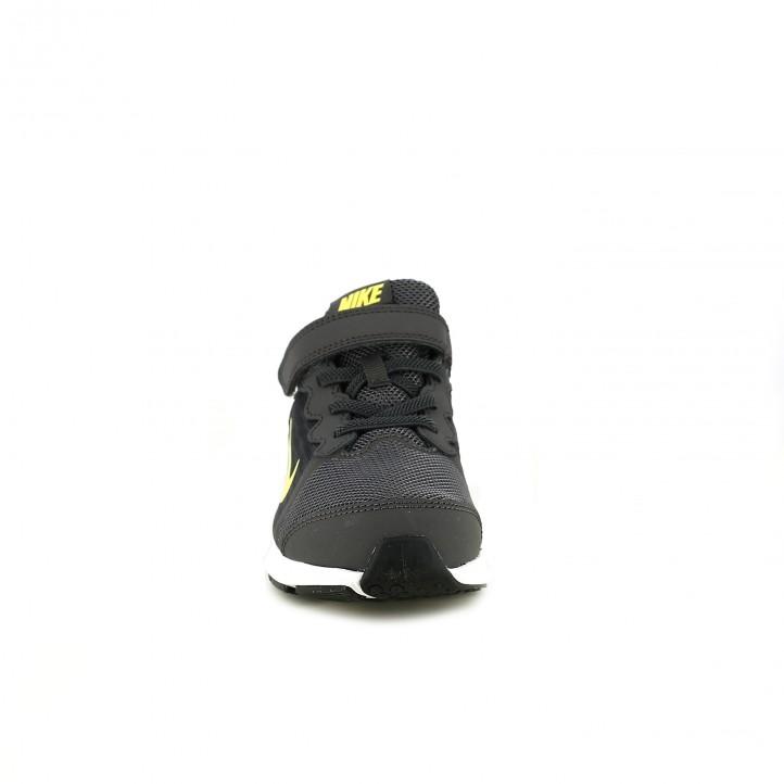 zapatillas deporte NIKE downshifter 8 grises y amarillas - Querol online