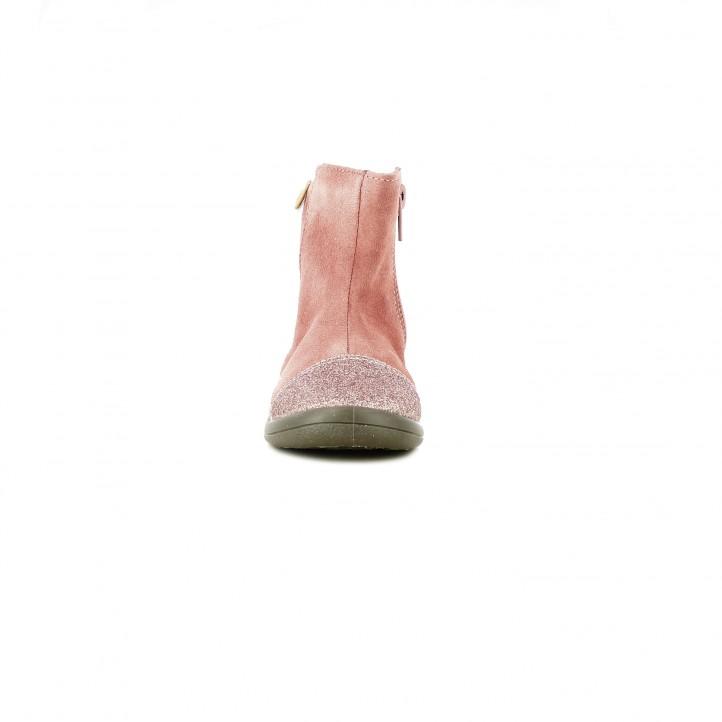 Botas GIOSEPPO rosas de piel con estrellas - Querol online