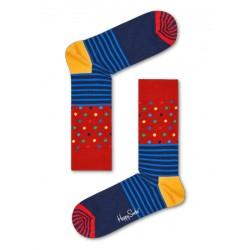 complementos HAPPY SOCKS calcetines largos con rayas y puntos - Querol online