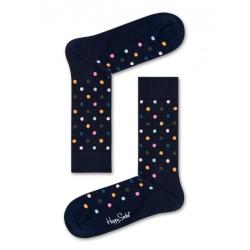 complementos HAPPY SOCKS calcetines largos azules con puntos - Querol online