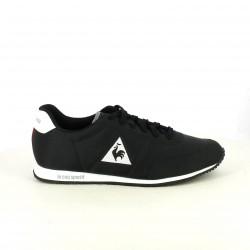 zapatillas deportivas LE COQ SPORTIF negras con bandera francesa - Querol online