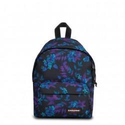 complementos Eastpak mochila con flores azules - Querol online