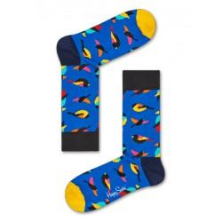 complementos HAPPY SOCKS calcetines azules con pájaros - Querol online