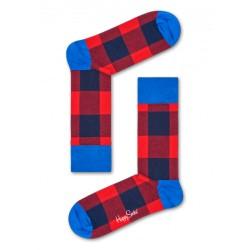 complementos HAPPY SOCKS calcetines largos rojos y azules - Querol online