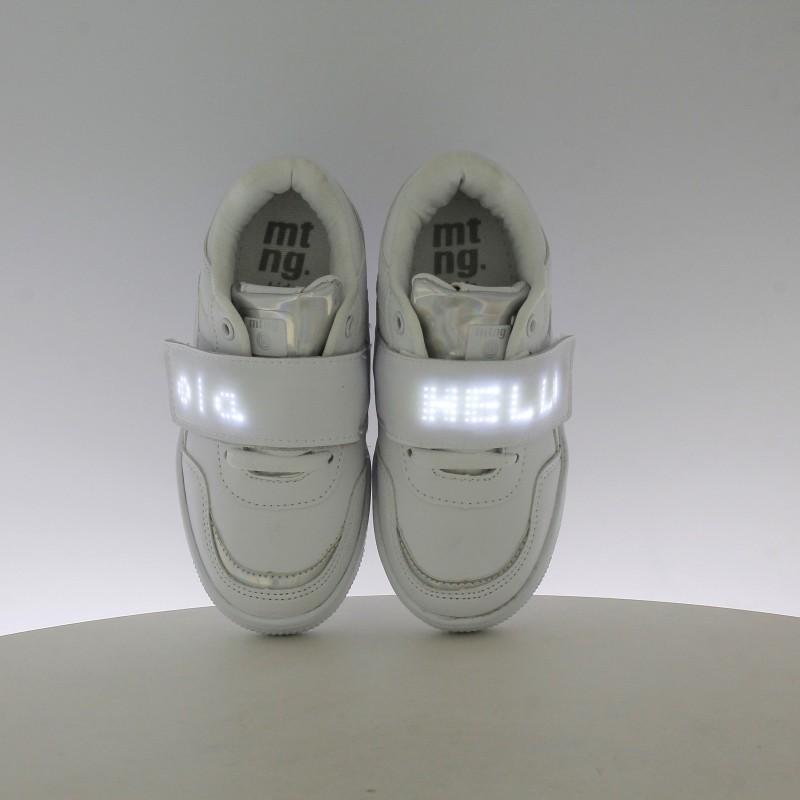 Deporte Con Luces Blancas Led Zapatillas MustangQuerolets SVzGqMUp