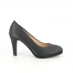 Zapatos tacón MARIA MARE negros con plantilla de piel - Querol online