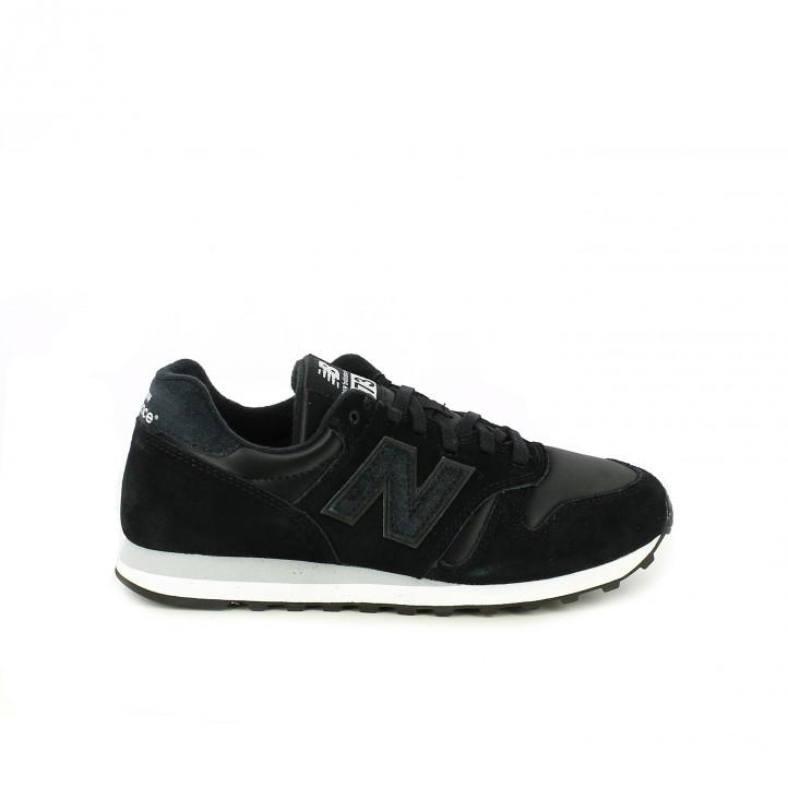 bfdb8370ea zapatillas deportivas NEW BALANCE 373 negras de piel - Querol online ...