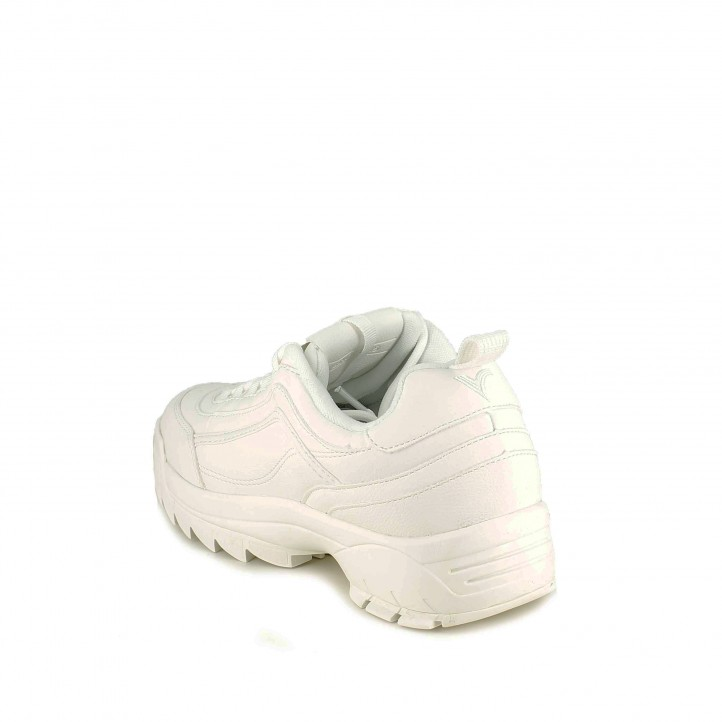 sabatilles esportives VICTORIA blanques amb plataforma dentada - Querol online