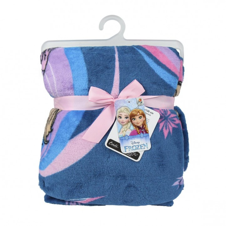complementos ARTESANIA CERDA manta azul de frozen - Querol online