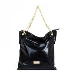 complementos GIOSEPPO bolso negro metalizado - Querol online
