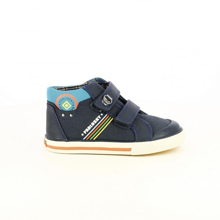 Botes PABLOSKY blaves amb vetes - Querol online