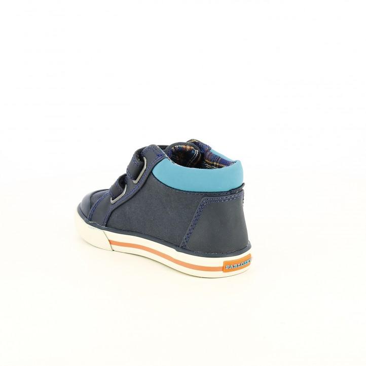 Botas PABLOSKY azules con velcros - Querol online