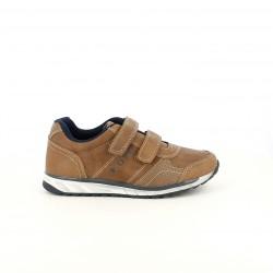 zapatos SPROX marrones y azules con velcros - Querol online
