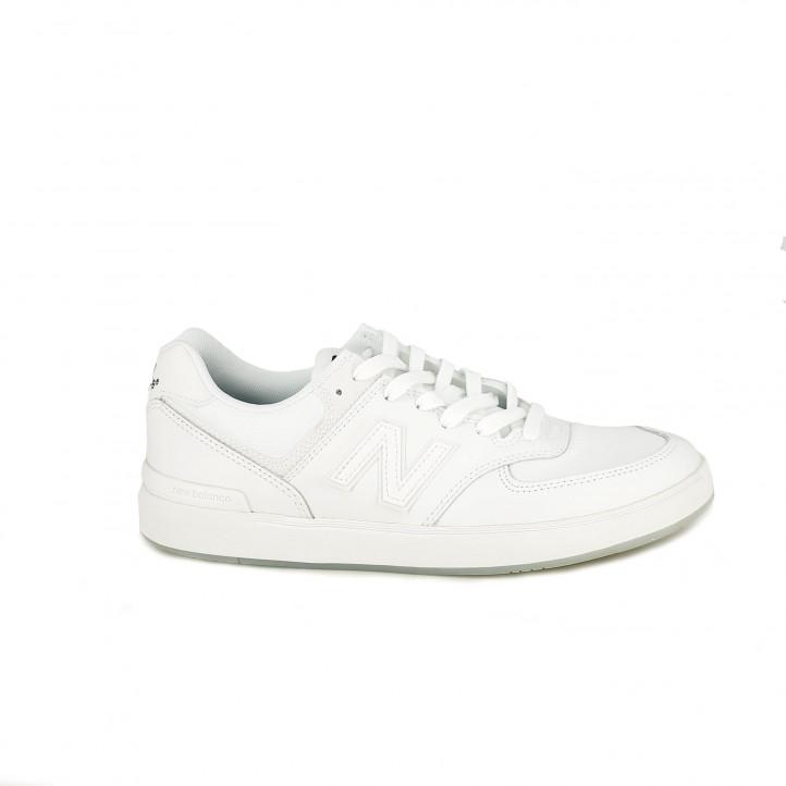 2dc7e7ac63 zapatillas deportivas NEW BALANCE 574 blancas - Querol online ...