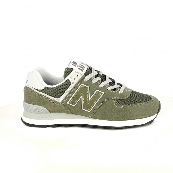 6ab15060b079b zapatillas deportivas NEW BALANCE 574 verdes - Querol online ...