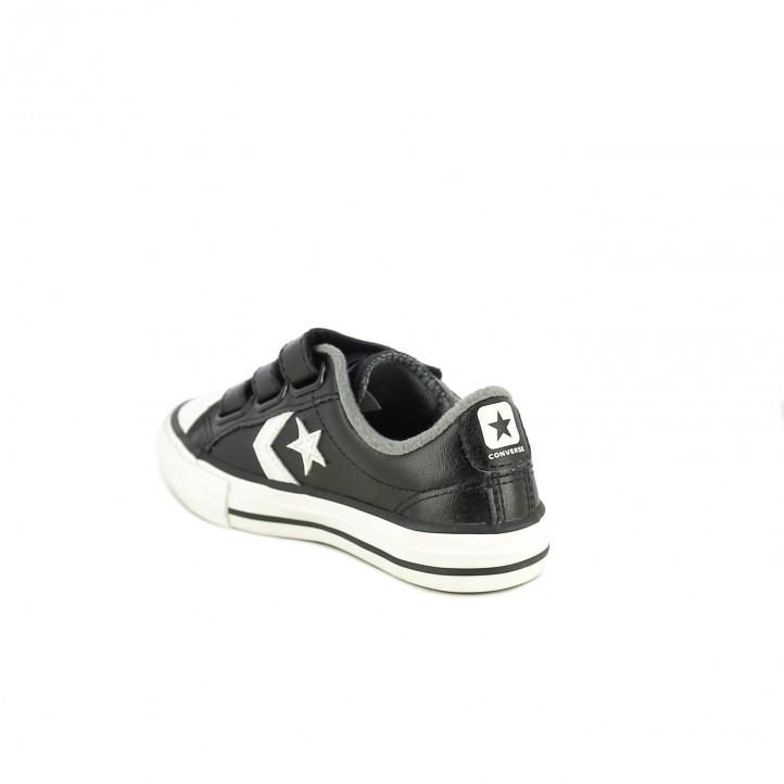 ... zapatillas lona CONVERSE star player negras y blancas - Querol online  ... ee61561bc7a