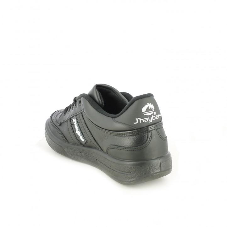 zapatillas deportivas JHAYBER aventura olimpo negras con cordones - Querol online