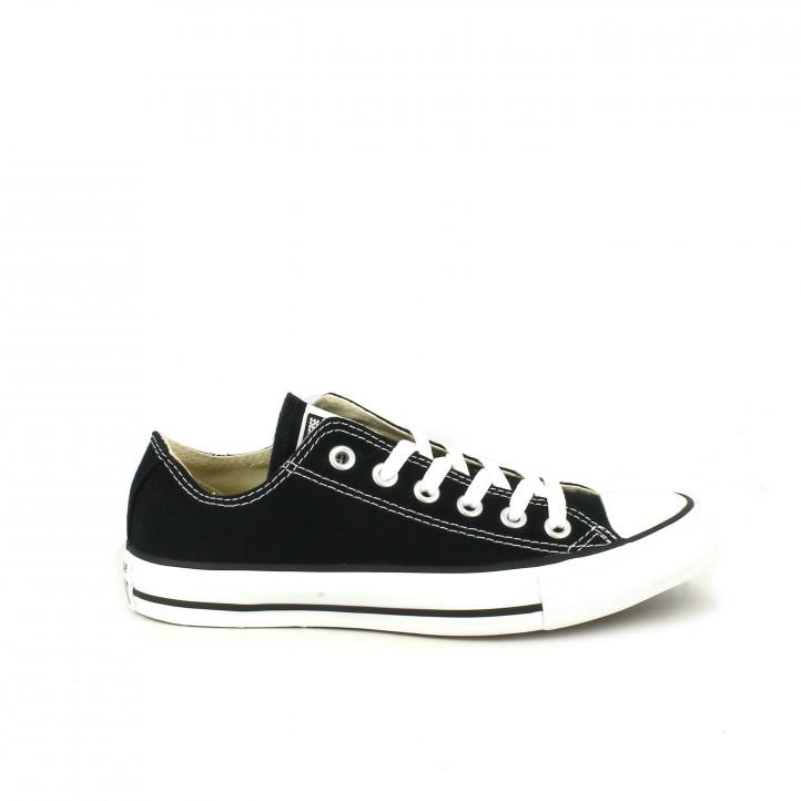 zapatillas lona CONVERSE all star negras bajas - Querol online ... 680351b166b