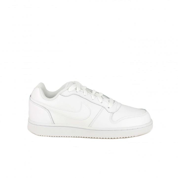2767ab17d1 zapatillas deportivas NIKE ebernon low blancas - Querol online ...