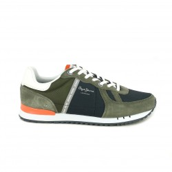 zapatillas deportivas PEPE JEANS verdes y azules - Querol online
