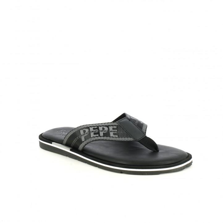 chanclas PEPE JEANS pepe jeans negras - Querol online