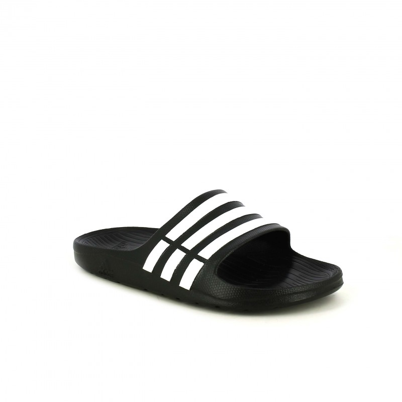 Adidas Con Rayas Chanclas Negras Online BlancasQuerol USMGVqzp