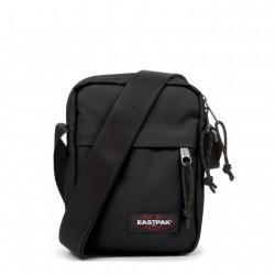 complementos Eastpak bandolera negra con bolsillo delantero - Querol online