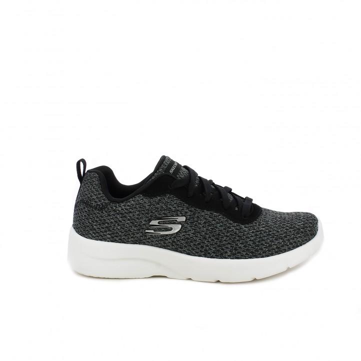 zapatillas deportivas SKECHERS memory foam grises - Querol online