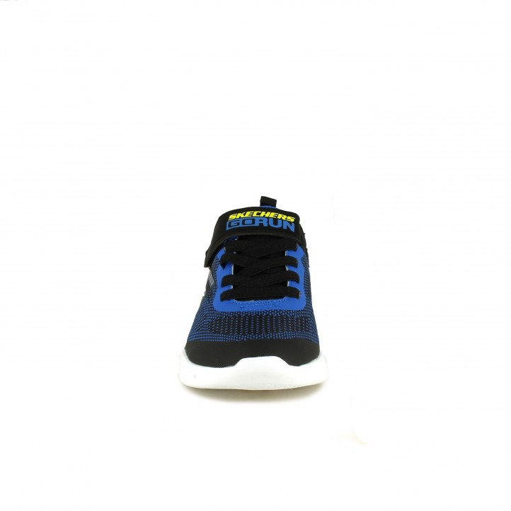 sabatilles esport SKECHERS negres, blaves i verdes - Querol online