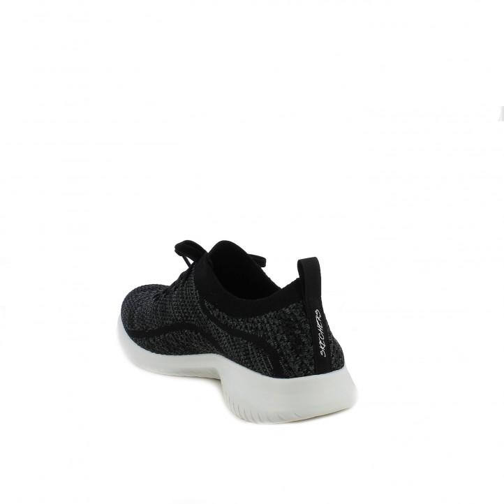 zapatillas deportivas SKECHERS memory foam negras - Querol online