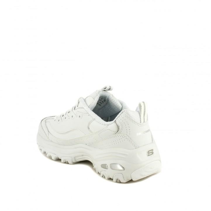zapatillas deportivas SKECHERS d'lites blancas - Querol online