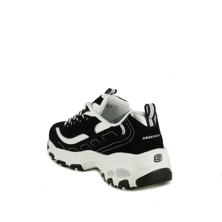 zapatillas deportivas SKECHERS negras d'lites - Querol online