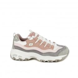 zapatillas deportivas SKECHERS d'lites colores pastel - Querol online