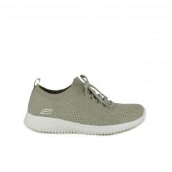 zapatillas deportivas SKECHERS memory foam beige - Querol online