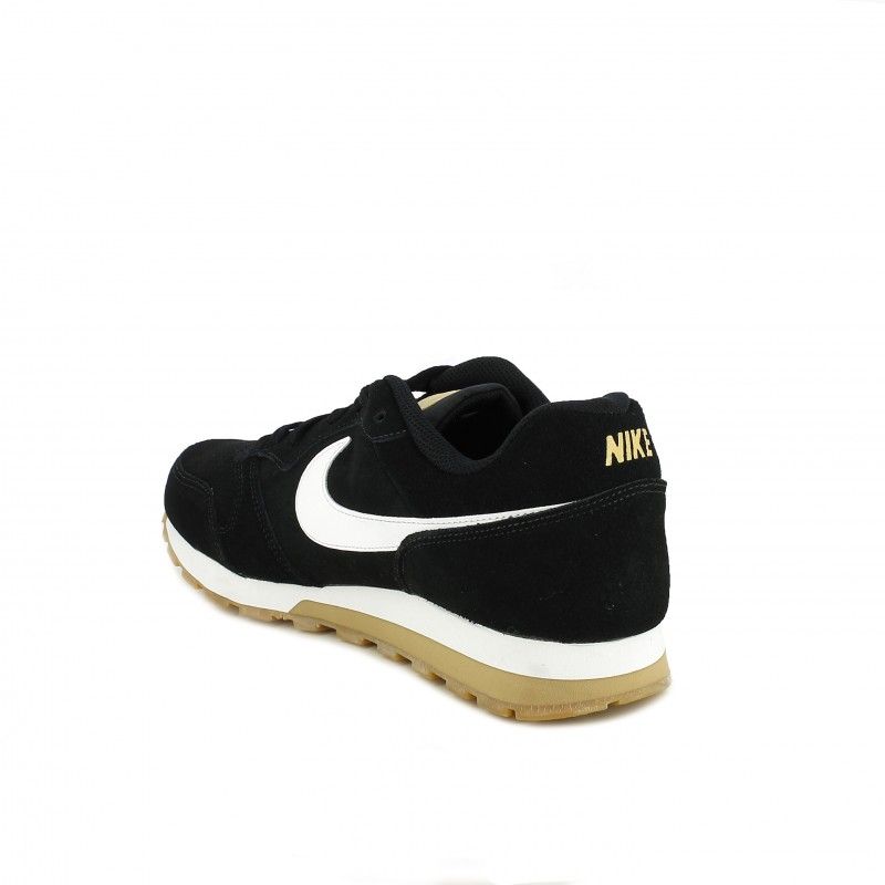 0b98942725 ... zapatillas deportivas NIKE md runner 2 negras con suela marrón - Querol  online