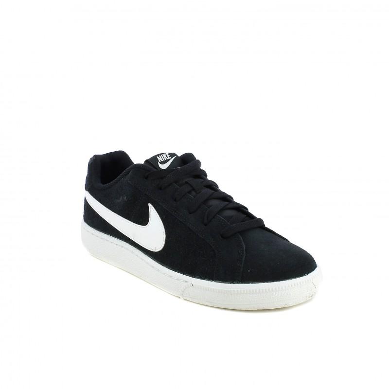 40248e40c53fb ... zapatillas deportivas Nike court royale negras de piel - Querol online  ...