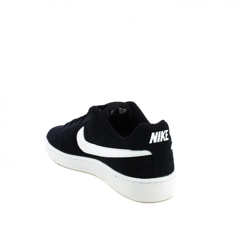 e08af094f6d30 ... zapatillas deportivas Nike court royale negras de piel - Querol online