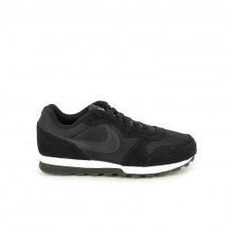 Zapatillas deportivas Nike md runner 2 negras con cordones - Querol online