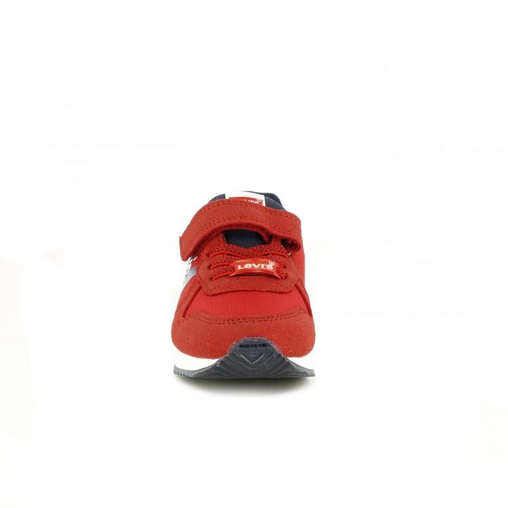 Sabatilles esport Levi's Kids vermelles amb logotip blanc - Querol online