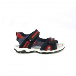 sandalias Levi's azules, rojas y negras - Querol online