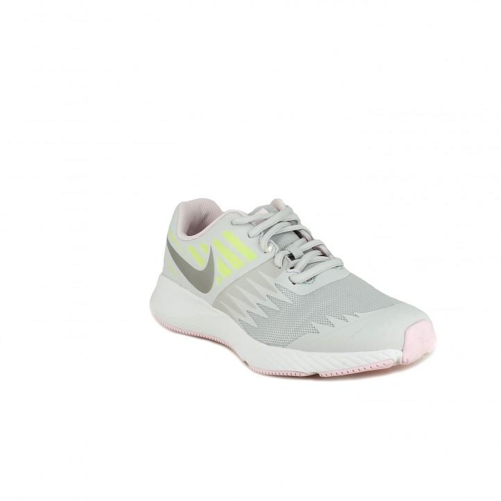 Zapatillas deporte Nike star runner grises - Querol online